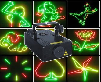 Red Green Yellow Laser